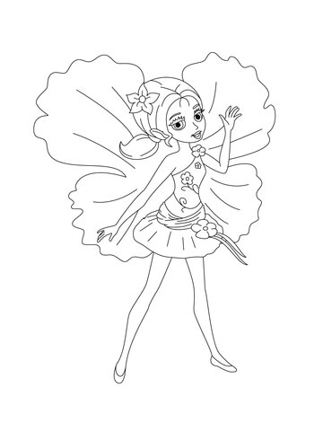 360x480 Barbie Doll Coloring Pages Free Coloring Pages