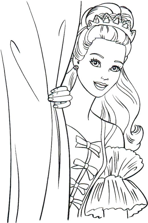 520x781 Barbie Coloring Pages62 For The Children Barbie