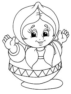 229x300 Free Coloring Pages For Boys And Girls For Girls Barbie, Dolls