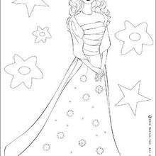 220x220 Barbie Doll Coloring Pages