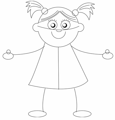400x419 How To Draw Baby Dolls With Easy Step By Step Drawing Tutorial