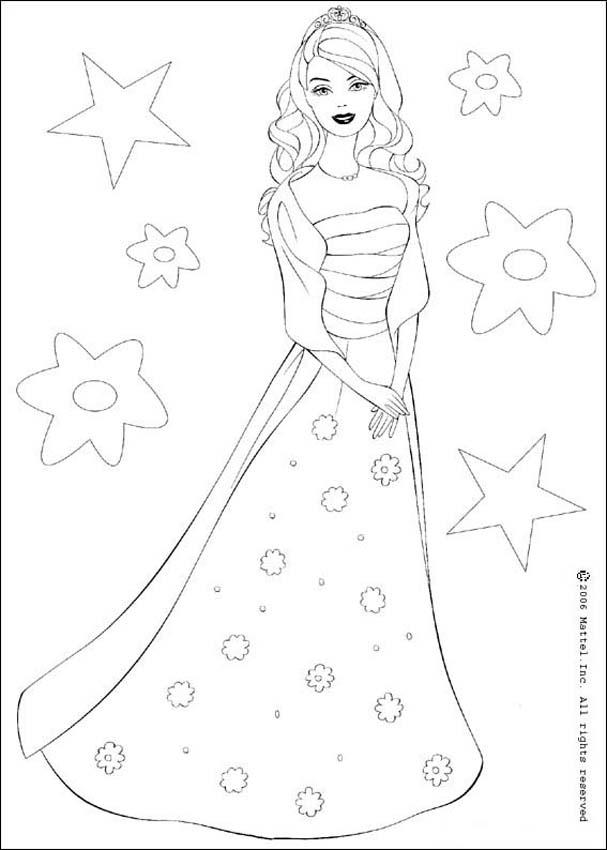 607x850 Barbie Doll Coloring Pages Barbie Doll Coloring Pages To Print