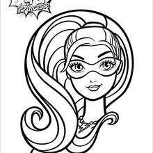 220x220 Barbie Coloring pages, Kids Crafts and Activities, Free Online