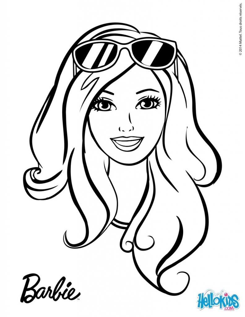 792x1024 Barbie Drawing Images
