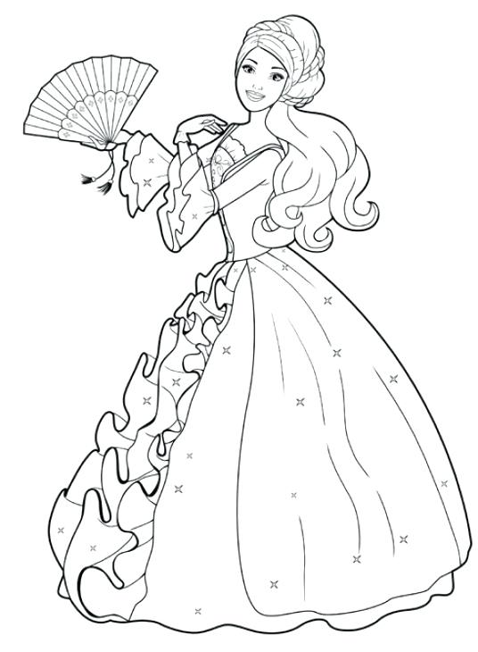 536x730 Dresses Coloring Book