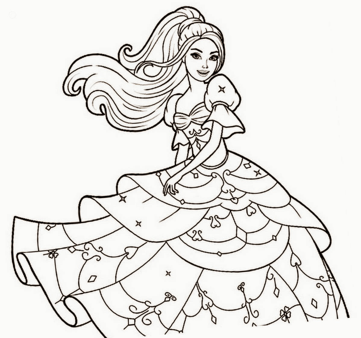 1198x1122 Nice Barbie Coloring Colour Drawing Free Wallpaper Check More