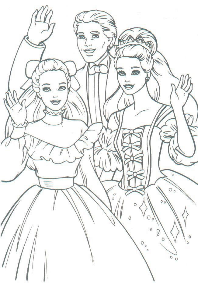 651x938 Vintage Barbie Coloring Page Barbie Coloring Pages
