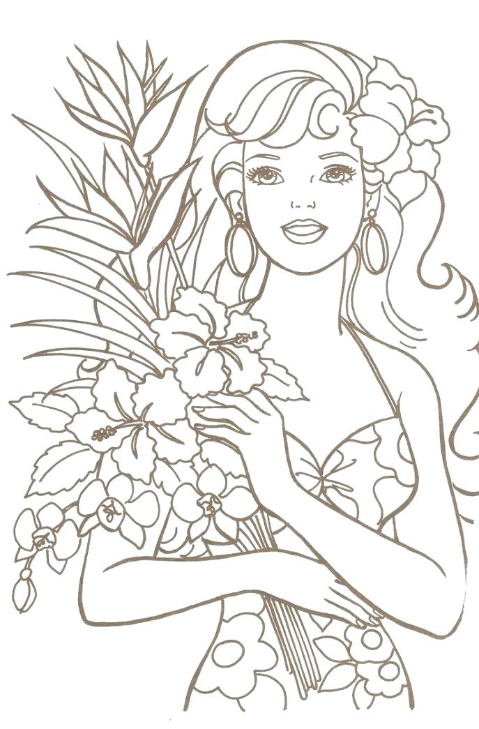 687x1045 Barbie Coloring Games Free Online Medium Size Of Colouring Book