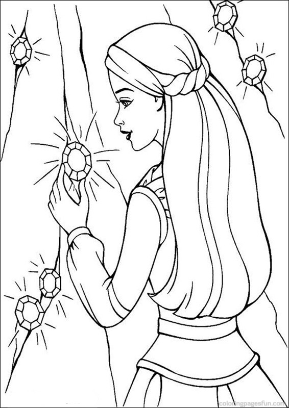 566x800 Barbie Coloring Pages Coloring Pages For Kids