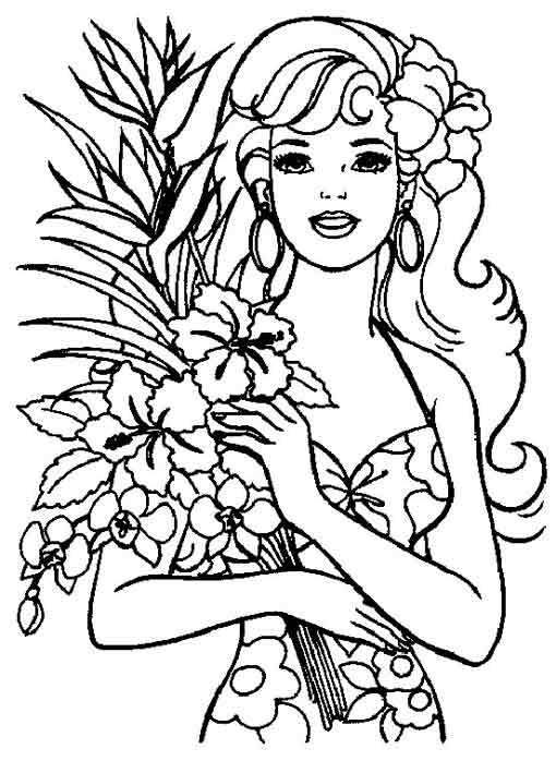 510x709 Barbie Coloring Page Coloring Pages Of Epicness