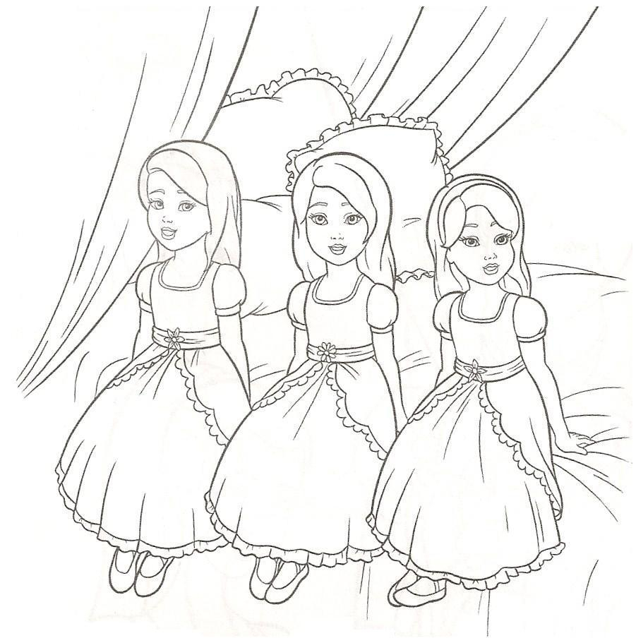 901x904 Barbie Princess Drawing Pages Elegant Barbie Coloring Pages