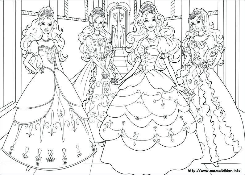 794x567 Barbie Print Out Coloring Pages Free Printable