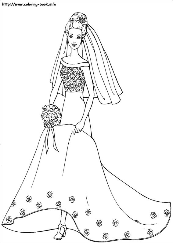 567x794 Inspiring Free Barbie Coloring Pages 77 For Your Line Drawings