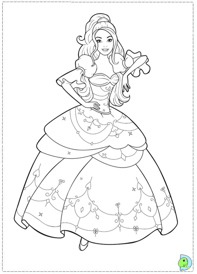 691x960 Barbie And The Three Musketeers Coloring Pages 03 JPEG Image