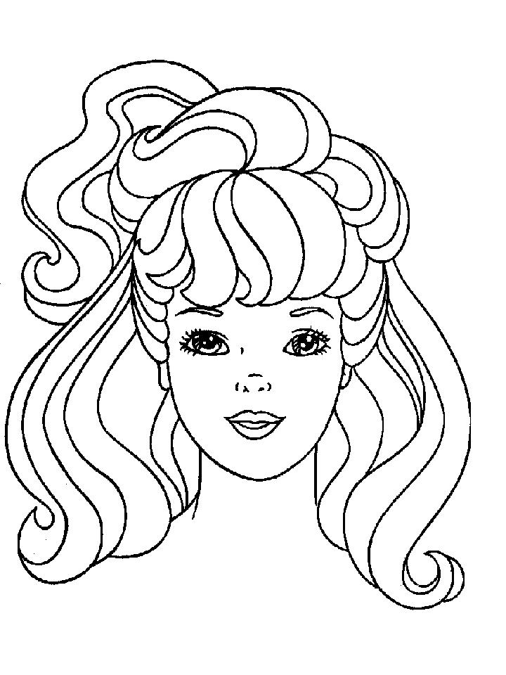 720x960 Barbie Coloring Page Printables Barbie Coloring