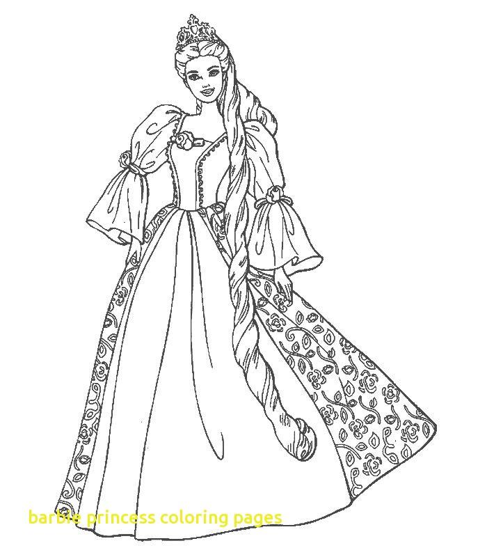 700x800 Barbie Princess Coloring Pages 3024