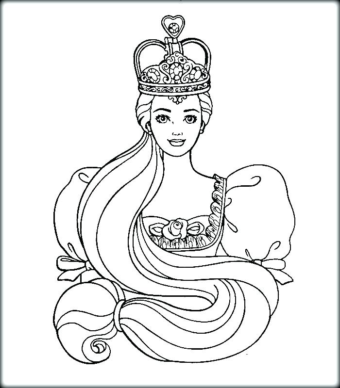 Barbie Princess Drawing at GetDrawings.com | Free for personal use ...