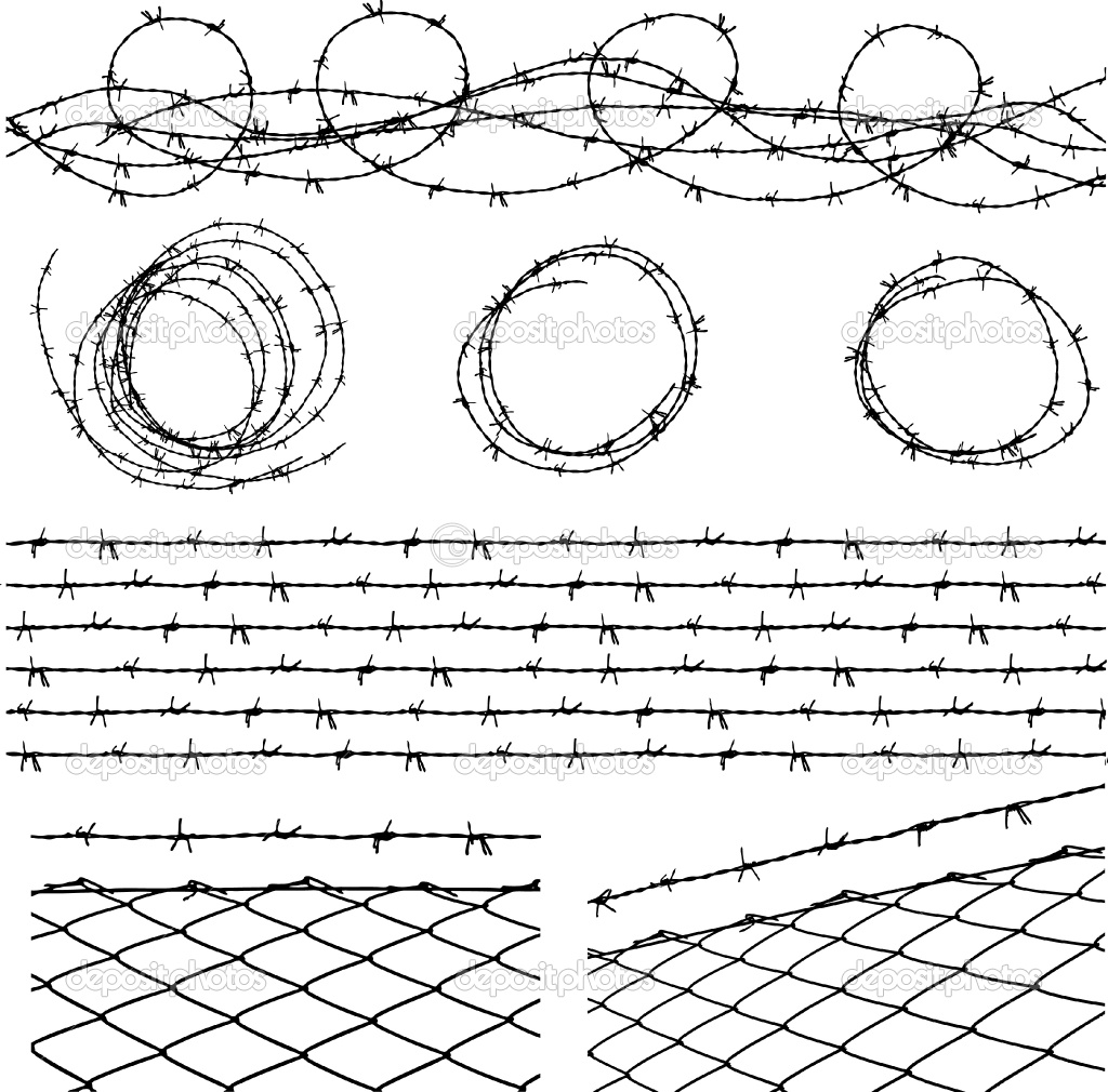 Barbwire Drawing at GetDrawings.com | Free for personal use Barbwire ...