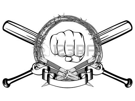 450x337 Barbed Wire Fist Images Amp Stock Pictures. Royalty Free Barbed Wire