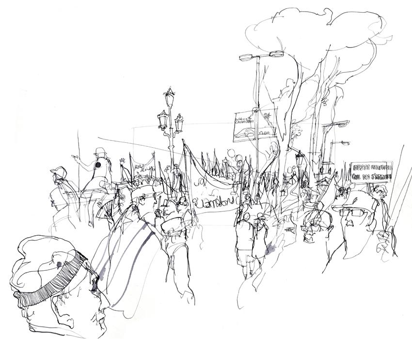 850x700 Manifestacion En Barcelona Veronica Lawlor