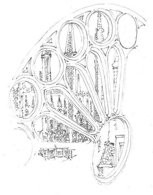 503x640 Sagrada Familia, Barcelona, Spain Sketch By Joungyeon, Bahk