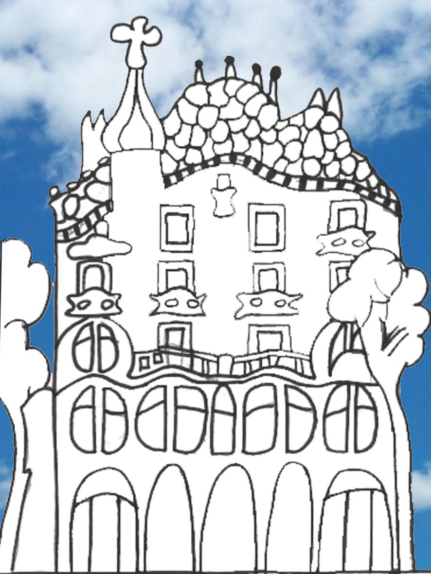 886x1181 Children's Gaudi Drawings