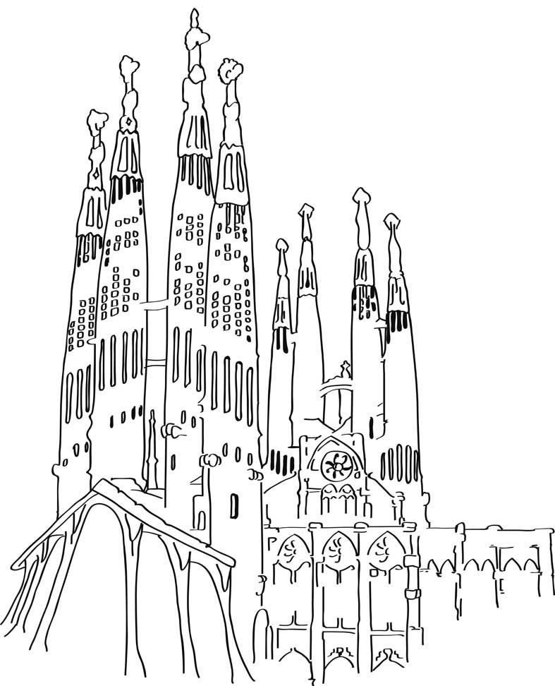 787x972 Gaudi Barcelona