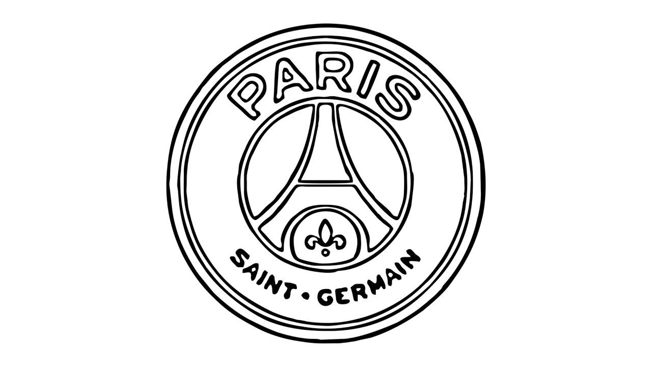 1280x720 How To Draw The Psg Logo (Paris Saint Germain)