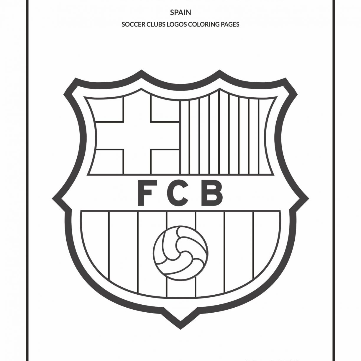 1224x1224 Juventus Logo Soccer Colouring Pagesfree Coloring Pages