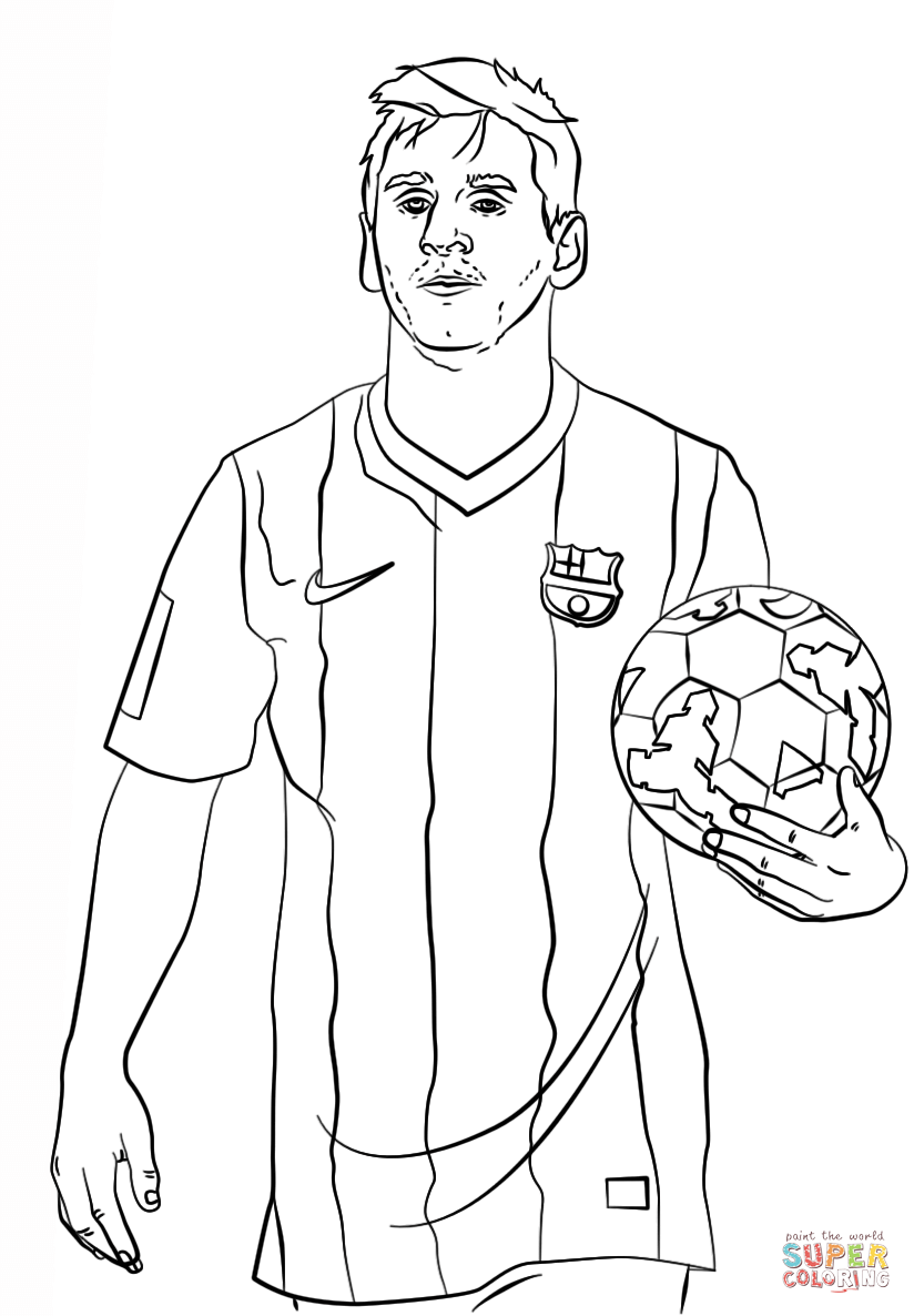824x1186 Lionel Messi Coloring Page Free Printable Coloring Pages