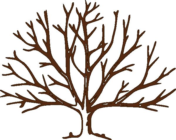 600x477 Bare Tree Brown Bare Tree Clip Art