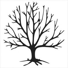 236x236 Bare Trees Clipart