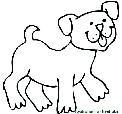 425x396 Dogs Coloring Page Barking Dogs Coloring Pages Dog Coloring Pages