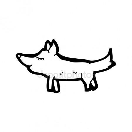 450x450 Barking Dog Cartoon Stock Vector Lineartestpilot
