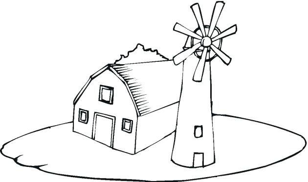 630x374 Minimalist Barn Coloring Page New Sheet Drawing Pages Free Colorin