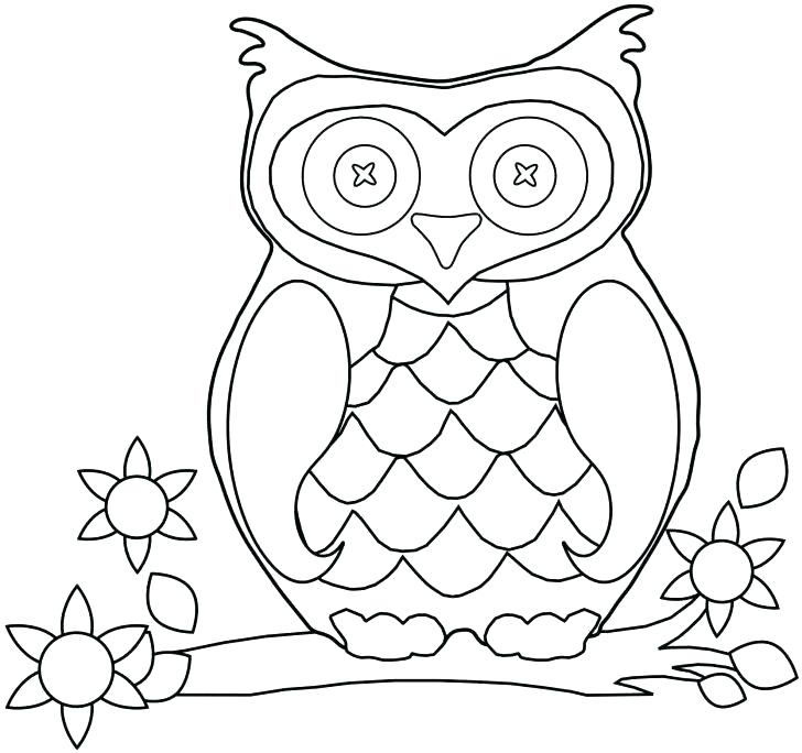 728x684 Barn Owl Coloring Page Snowy Owl Coloring Pages Barn Owl Coloring