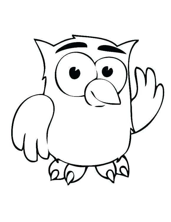580x750 New Barn Owl Coloring Page For Coloring Page Owl Cute Cartoon Owl