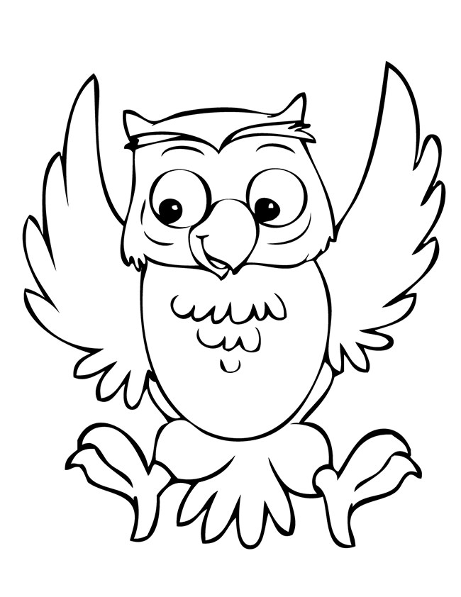 650x842 Owl Template