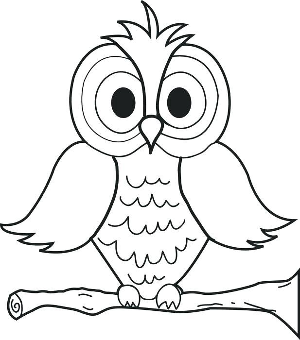 617x700 Barn Owl Coloring Page Barn Owl Coloring Pages Printable Cartoon