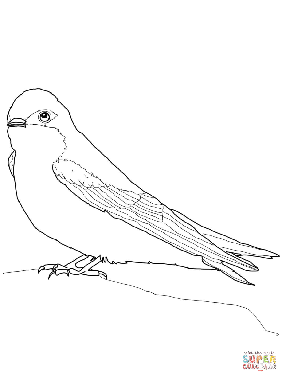 1200x1600 Swallows Coloring Pages Free Coloring Pages