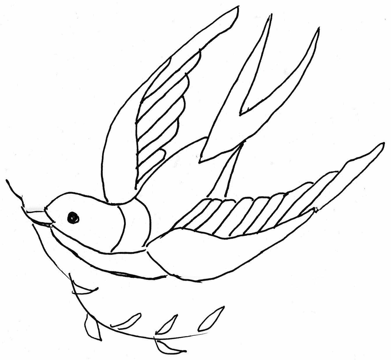 1343x1235 Olderrose Free Swallow Pattern