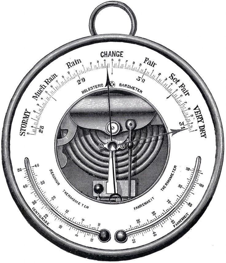 Barometer Drawing