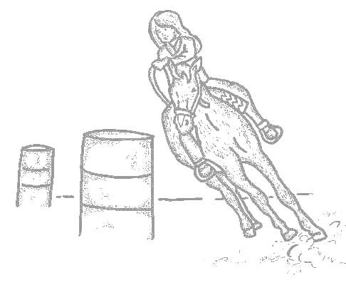486x400 Barrel Racing Pictures To Print Barrel Racing Tumblr