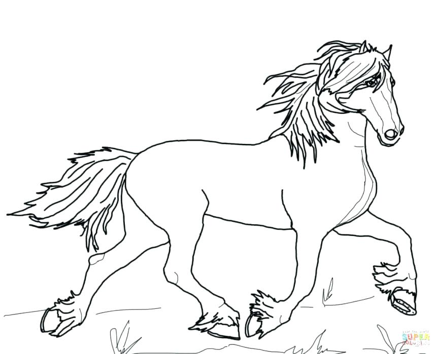 863x699 Barrel Racing Coloring Pages Horse Barrel Racing Coloring Page