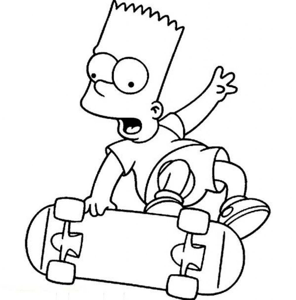 Cool Simpsons Characters Coloring Pages barney the dinosaur pictures ...