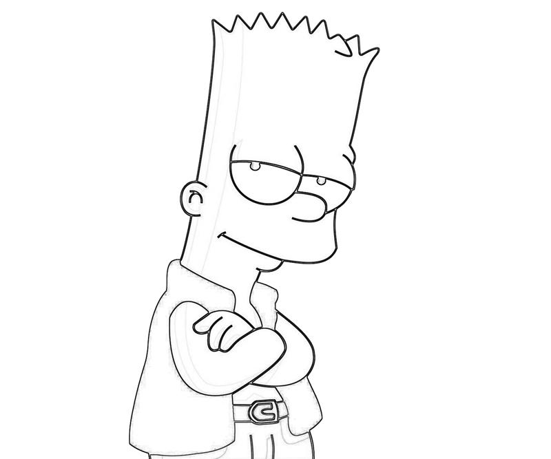 800x667 Simpson Coloring Pages