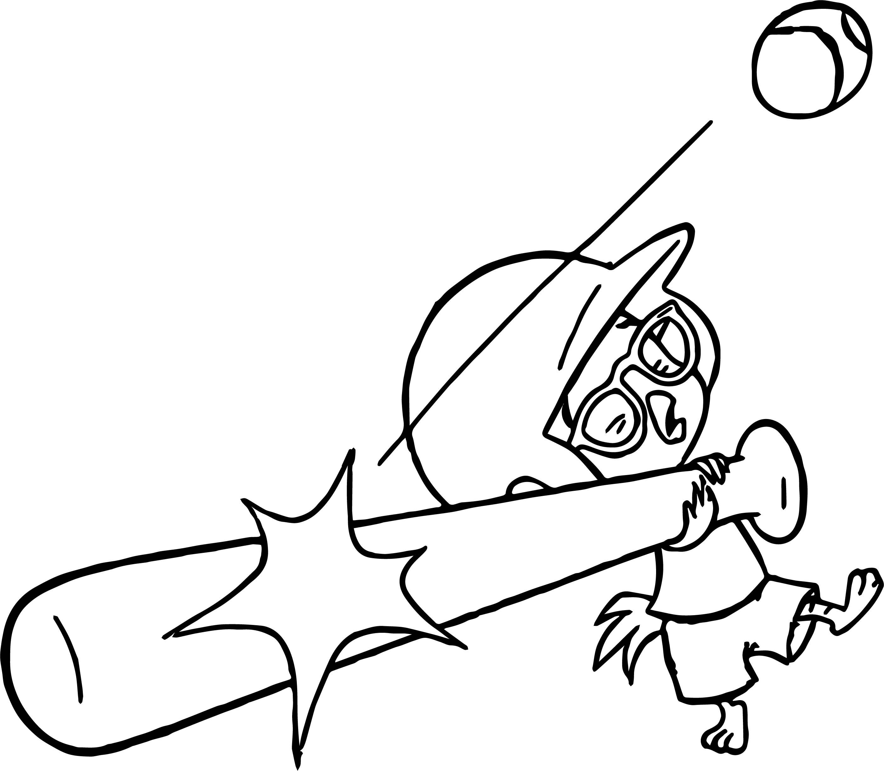 2808x2449 Bat Coloring Pages Preschool Fresh Chicken Little Ace Cluck Kick