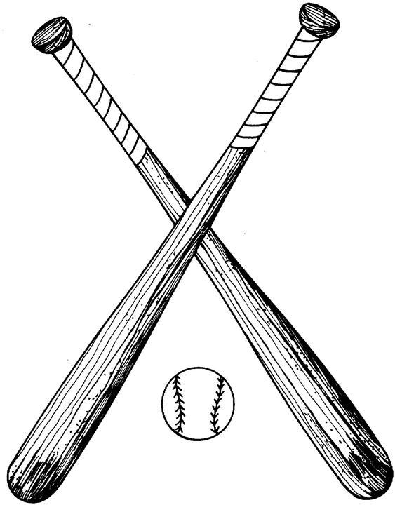 563x720 Crossed Baseball Bat Clipart Acerg48di Jpeg Uricra