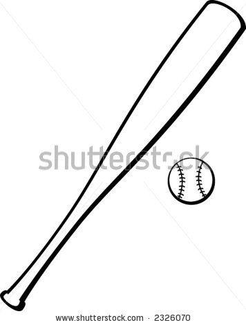 356x470 Baseball Bat Clipart Black And White Many Interesting Cliparts