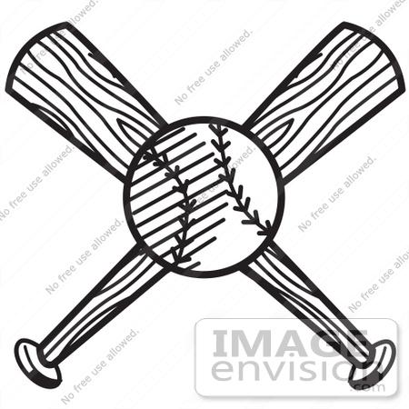 450x450 Baseball Clipart Black And White